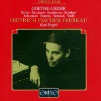 Orfeo d'Or - Lieder D'APRÈS Goethe De Beethoven, Brahms - Cd