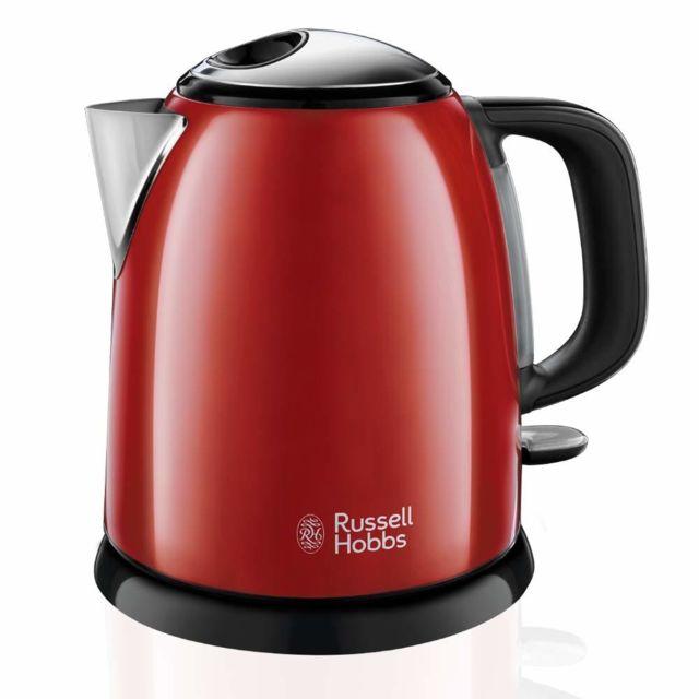 RUSSELL HOBBS bouilloire sans fil 1l 2400w rouge - 24992-70