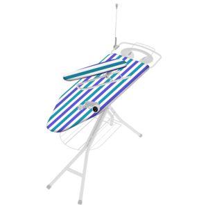 carrefour home table repasser v1 pour centrale vapeur toute quip e plateau 120x40 cm. Black Bedroom Furniture Sets. Home Design Ideas