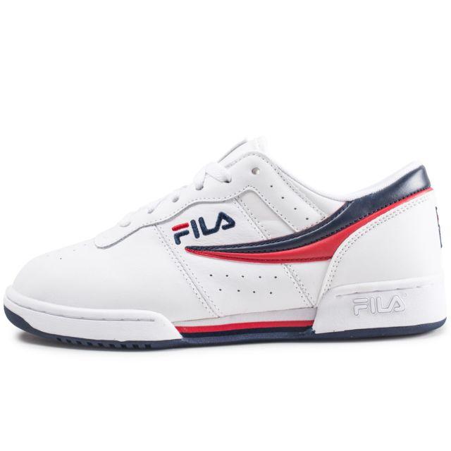 0230c46c15a67 Fila - Original Fitness Blanche Bleu Et Rouge - pas cher Achat ...