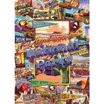 Master Pieces - Puzzle 1000 pièces - Voyage en Amérique : Parcs nationaux