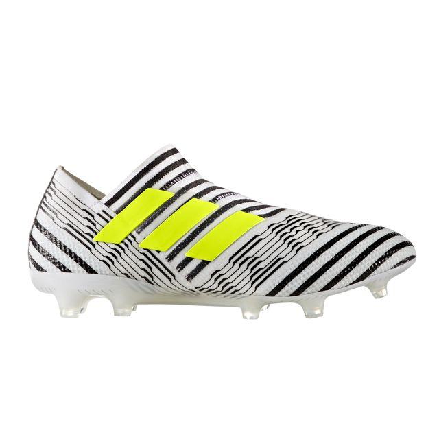 Chaussures football Adidas Nemeziz 17+ 360 Agility Fg Blancnoir