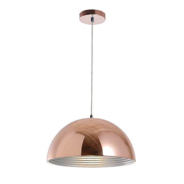 Paris Prix Lampe Suspension Design Mads 40cm Cuivre Pas Cher