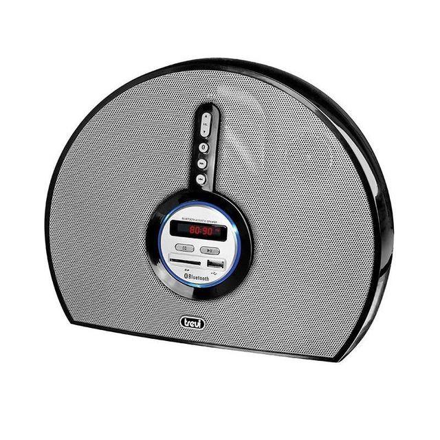 TREVI SR-8410 BT Enceinte Bluetooth USB SD AUX -noire
