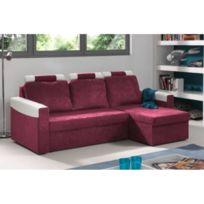 alin a orca canap d 39 angle droit bi mati re gris achat. Black Bedroom Furniture Sets. Home Design Ideas