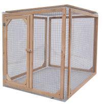 Les Animaux De La Fee - Enclos poule anti-prédateurs hauteur 100 cm made in France Taille 1 mètre