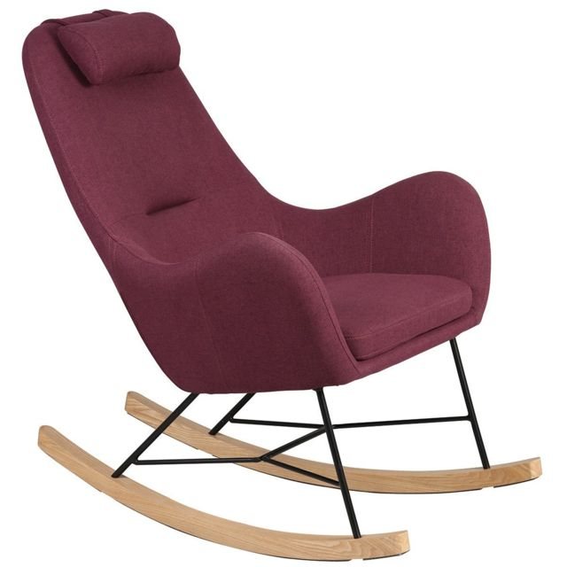 Altobuy Rosa - Rocking-Chair Violet