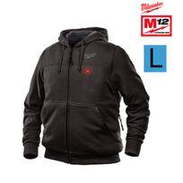Milwaukee - Sweat chauffant noir M12 Hh Bl2-0 Taille L sans batterie ni chargeur 4933451613