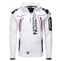 Geographical Norway - Blouson softshell Veste Gn Tambour blanc