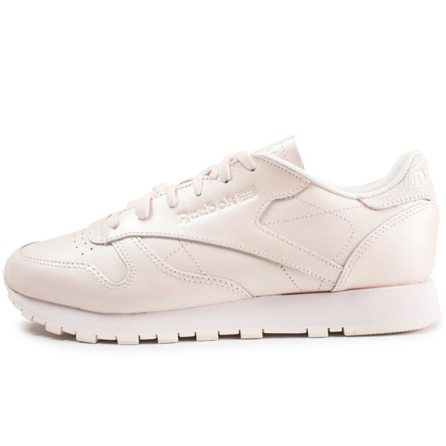8e52feeafd54f Reebok - Classic Leather Rose P le Femme - pas cher Achat   Vente .