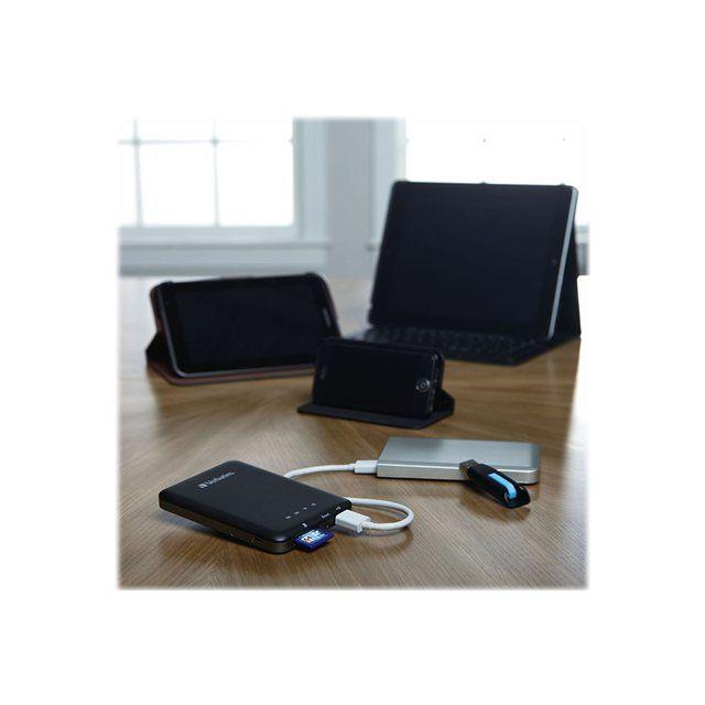 Verbatim - MediaShare Wireless Streaming Device - Adaptateur de diffusion en continu de support réseau - 802.11b, 802.11g, 802.11n