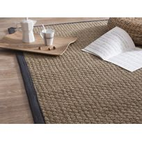 House Bay - Tapis d escalier en sisal demi lune - Lot de 5 Essential