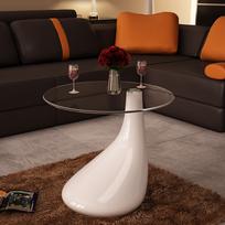 Vidaxl - Table basse de salon blanche