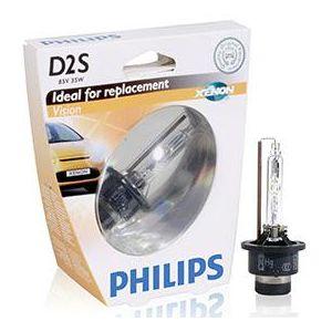 philips 1 ampoule xenon d2s 85v 35w vision 85122vis1 pas cher achat vente ampoule auto. Black Bedroom Furniture Sets. Home Design Ideas