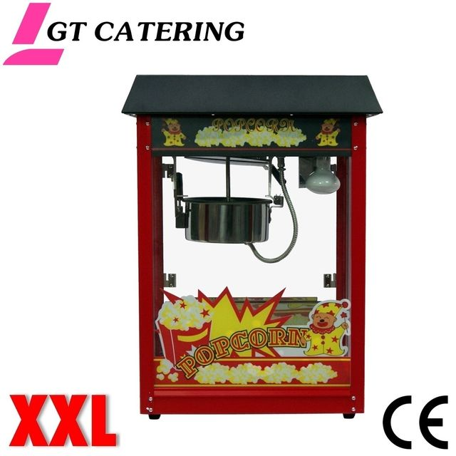 GT CATERING Machine à pop corn professionnelle