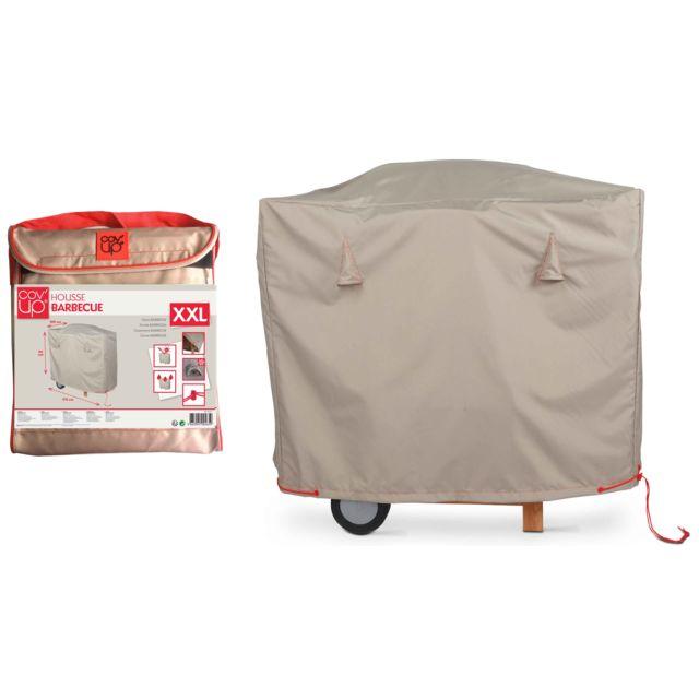Housse De Barbecue : oviala housse de barbecue maxi 170 x 100 cm gris pas ~ Nature-et-papiers.com Idées de Décoration