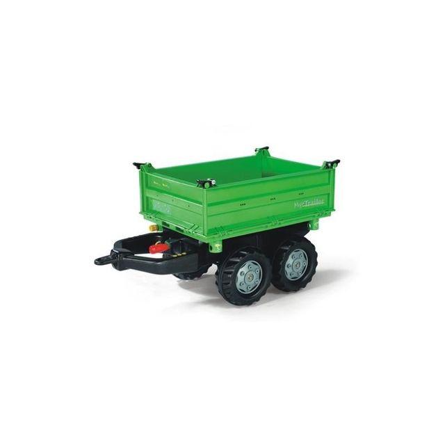 Rolly Toys 121502 Mega Trailer, remorque pour tracteurs à pédales