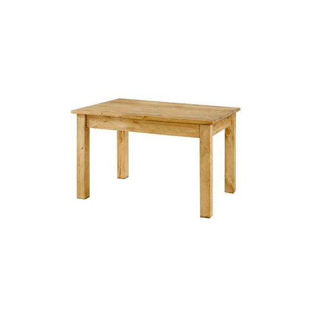 Table repas rectangulaire 120x80 cm - Terro