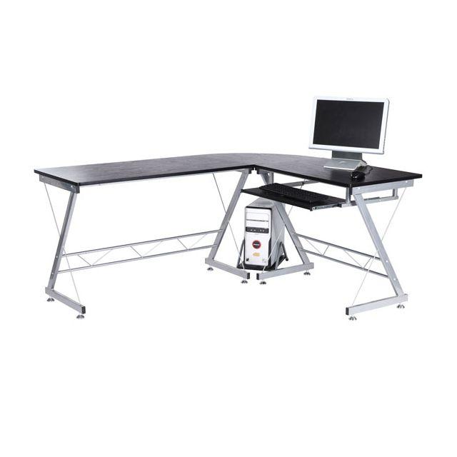 bureau avec tablette clavier coulissante Achat bureau avec