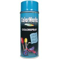 Colorworks - Peinture aérosol brillante Bleu ciel - 400 ml
