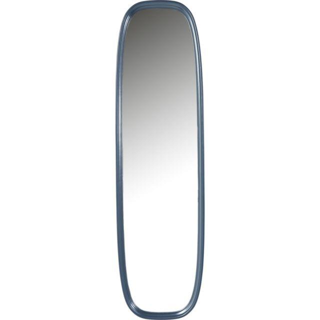 Karedesign Miroir sur pied Salto pétrole 165x45cm Kare Design