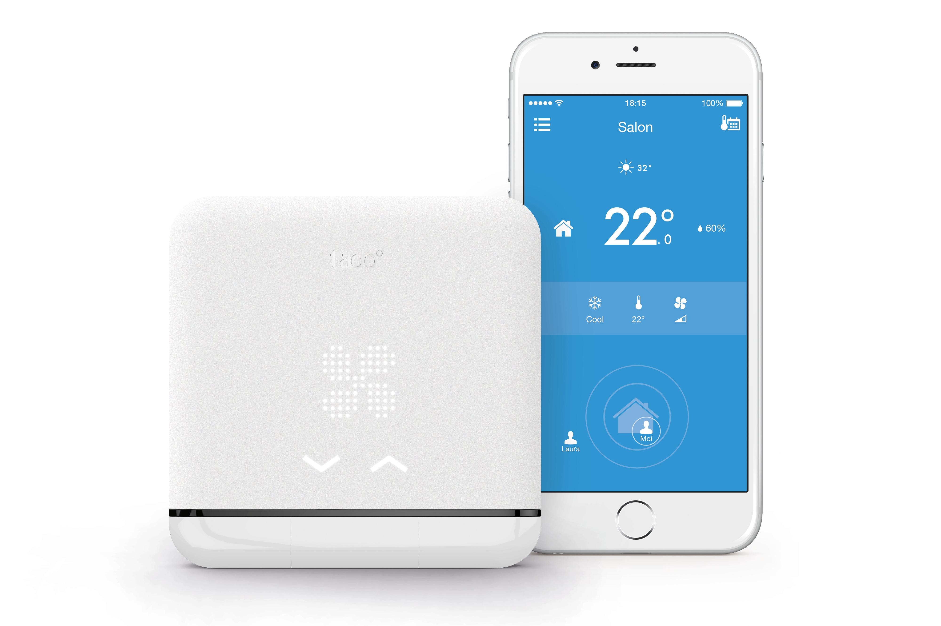 Kit contrôle climatisation intelligent et connecté