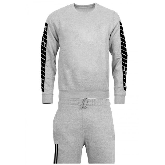 Magiccustom - Calabasas - Survetement Jogging Coton Sweat Col Rond ... d1e1b7b34940