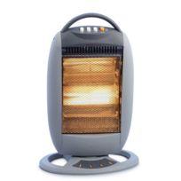 Niklas - Chauffage infrarouge Oscillant 1200W Chauffage d'appoint Classic Electrique Anti basculement Coupure automatique