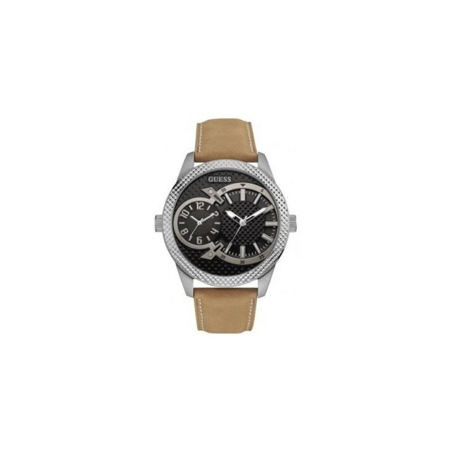 Cuir Marron Montre Camel W0788g2 Homme Mode mwnv08ON