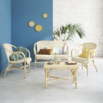 Salon rotin pour veranda - Achat Salon rotin pour veranda - Rue du ...