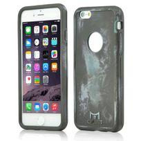 Mols - Coque antichoc Limited Edition coloris bleu métal pour iPhone 6s