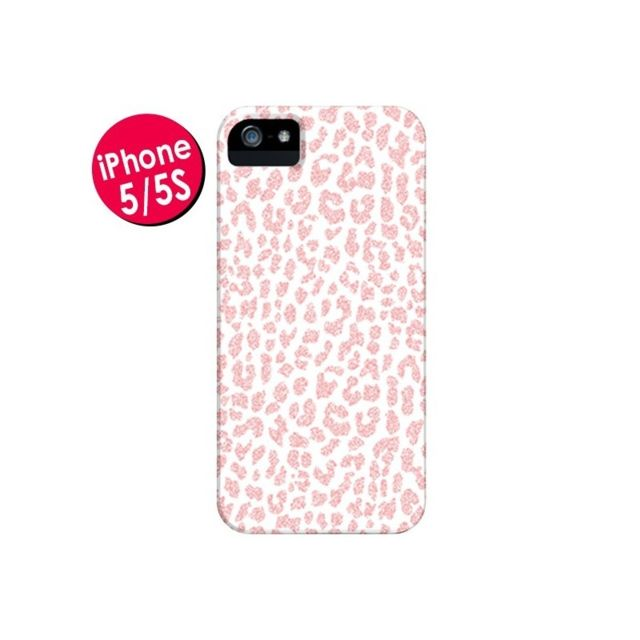 coque iphone 5 5s se leopard corail rose mary nesrala 5s