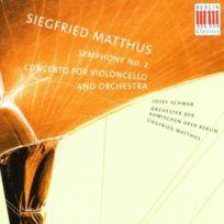 Berlin Classics - Symphonie N 2 - Concerto Pour Violoncelle - Cd