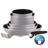 Tefal - Ingenio Essential Batterie de cuisine 7 pieces L2149402 16-18-20-22-26cm Tous feux sauf induction