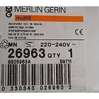 Merlin Gerin - 26963 - Déclencheur mini de tension