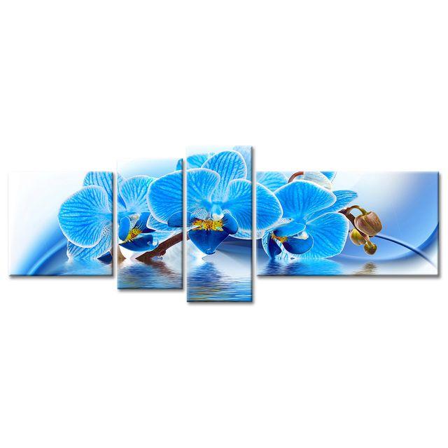 Cadre Deco Fleurs Orchidees Pas Cher Boutique En Ligne