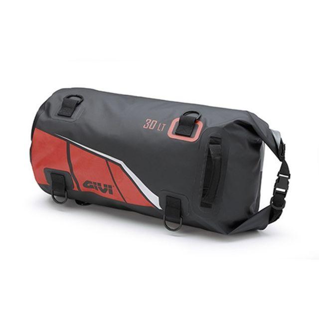 96cf7b8ec2 GIVI - sac de selle rouleau moto scooter EA114BR étanche noir-rouge 30L -  pas cher Achat / Vente Sacoches - RueDuCommerce