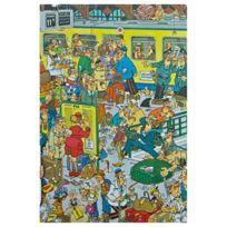 Jumbo - Puzzle 500 pièces : Jan Van Haasteren : La gare
