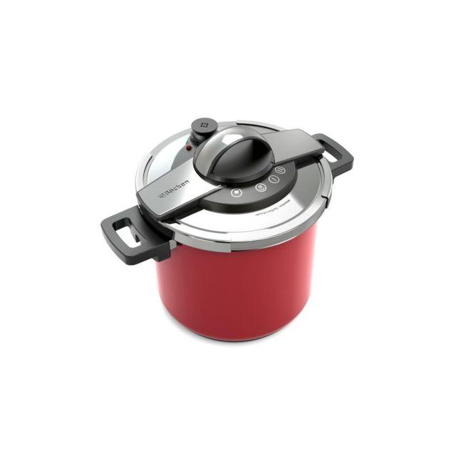BACKEN - Autocuiseur New Kool'OR Rouge 7L