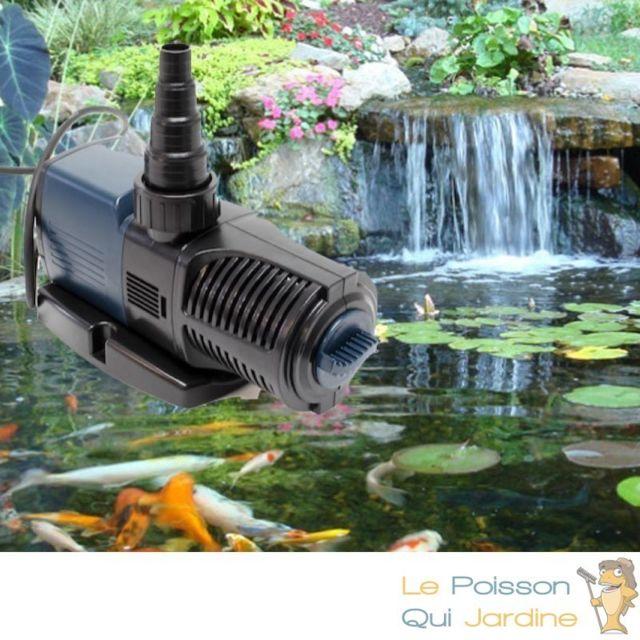 Pompe Bassin De Jardin Economique 4000 L H 25 W De Consommation