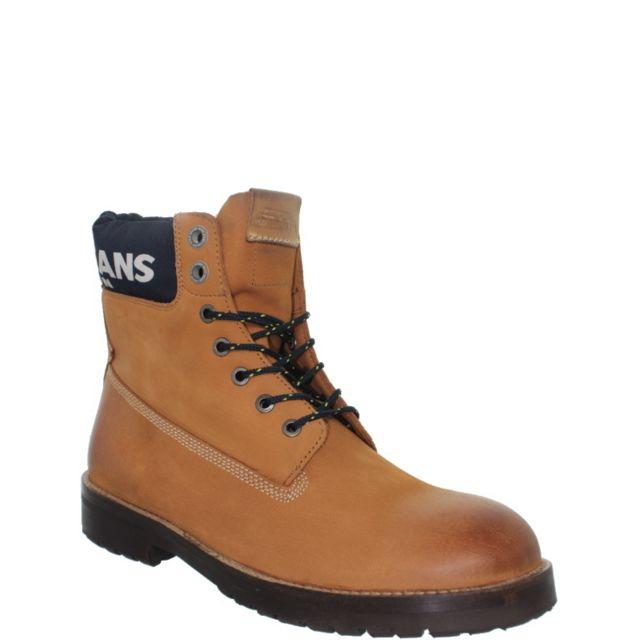 1eebe9503c7 Pepe Jeans Chaussures - Boots Pepe Jeans en nubuck ref pep38102-cognac