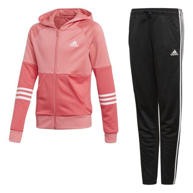 12 14 Matrose Intenseblanc Hooded Adidas Survêtement Rose Ans thQrsd