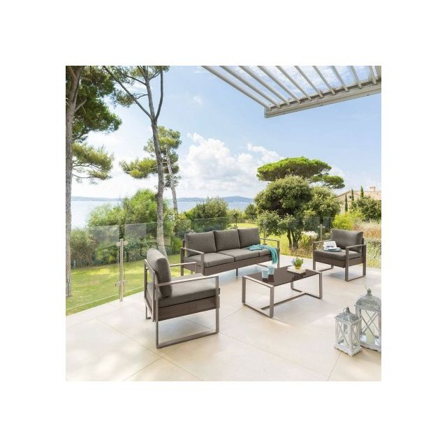 Hespéride - Salon de jardin Sesimbra tonka - pas cher Achat ...