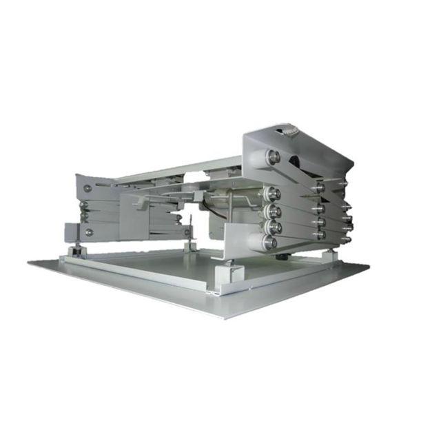 Kimex Support motorisé pour vidéoprojecteur, Hauteur 64cm max Le support Kimex 055-0064 est une solution motorisée pour vidéoprojecteurs destinée à être intégrée dans un faux plafond.Ce support électrique vous permettra de descendre votre vidéoprojecteur