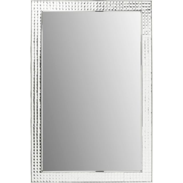 Karedesign Miroir Crystals chrome 120x80cm Kare Design