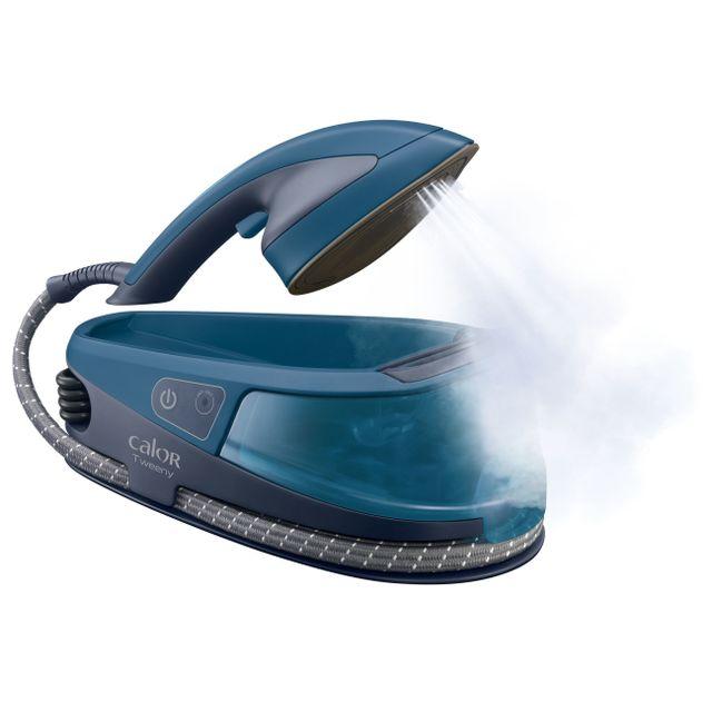 CALOR Fer vapeur/ Défroisseur à main Tweeny NI5010C0 Allégez votre quotidien ! Repassez ou défroissez, c'est vous qui choisissez !Extrêmement léger et facile à manipulerGrâce à sa poignée facile &agrav
