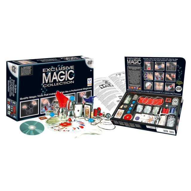 France Cartes Magic Collection Deluxe + Dvd