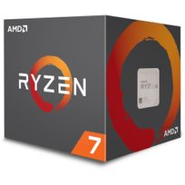 AMD - Processeur Ryzen 7 1700 65W AM4 8/16 Core/Tread 3.7 Ghz avec ventilateur