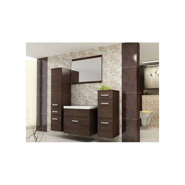 Shower Design - Ensemble Nassau - meubles de salle de bain - wengé ...