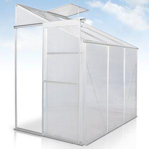 jago serre de jardin avec fondation pas cher achat vente serres en plastique rueducommerce. Black Bedroom Furniture Sets. Home Design Ideas